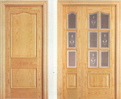 Dise o 10 la puerta carpinteria for Puertas de roble precio
