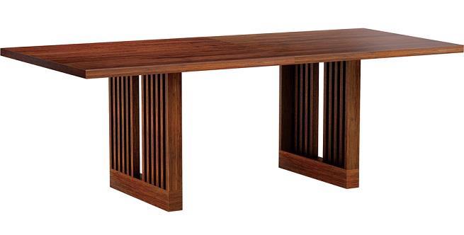 Mesa moderna 2 la puerta carpinteria for Mesa moderna