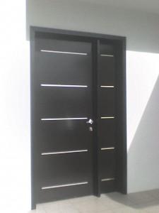 Minimalista 4 la puerta carpinteria for Puertas minimalistas