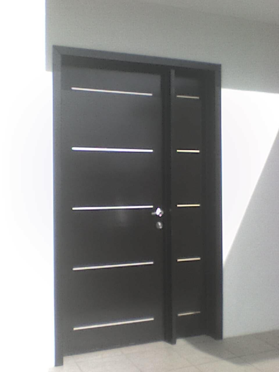Minimalista 4 la puerta carpinteria for Puertas para casas minimalistas