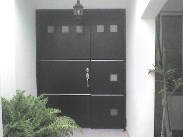 Minimalista 5 la puerta carpinteria - Puertas de herreria para entrada principal ...