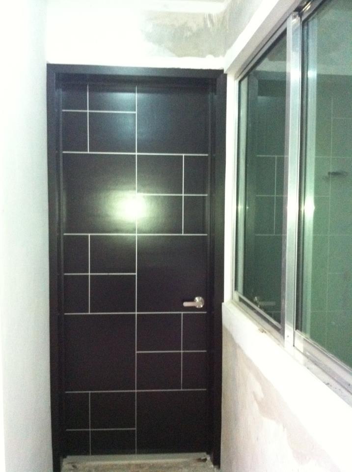 Minimalista 6 la puerta carpinteria for Puertas para casas minimalistas