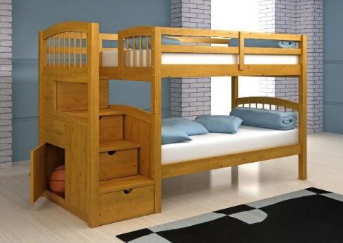 Recamaras literas y cunas en m rida yucat n la puerta for Bedroom designs with double deck
